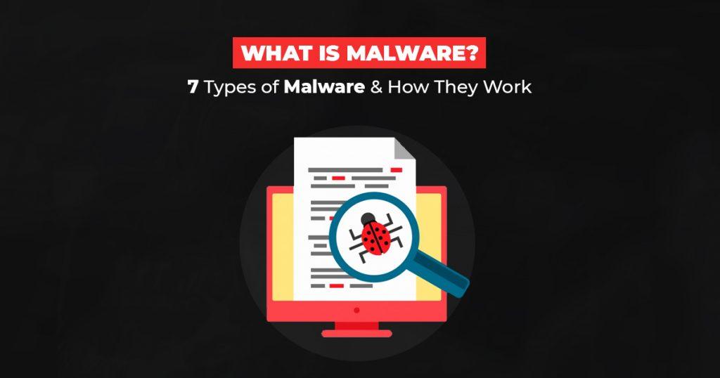 Types of Malware - SSLmagic