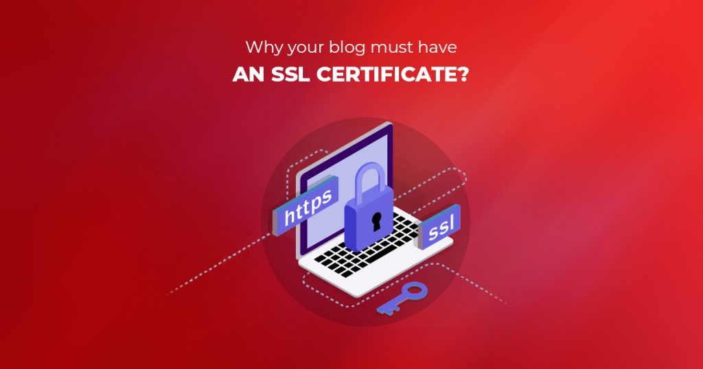 SSL certificate for blog